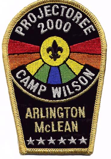 North Arlington Projectoree 2000 Patch