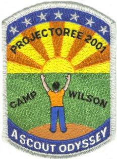 North Arlington Projectoree 2001 Patch