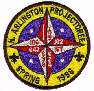 North Arlington Projectoree 1996 Patch