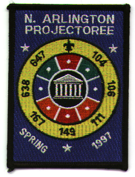 North Arlington Projectoree 1997 Patch
