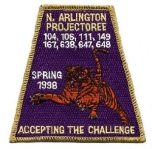 North Arlington Projectoree 1998 Patch